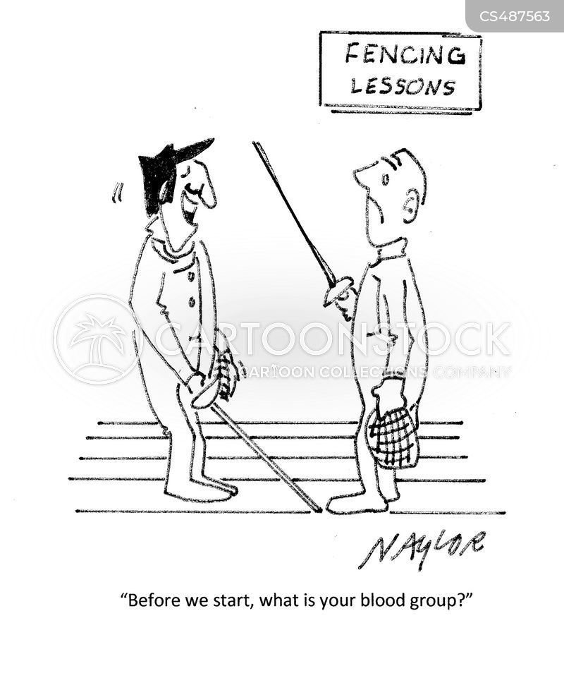 Epee Cartoons and Comics - funny pictures from CartoonStock