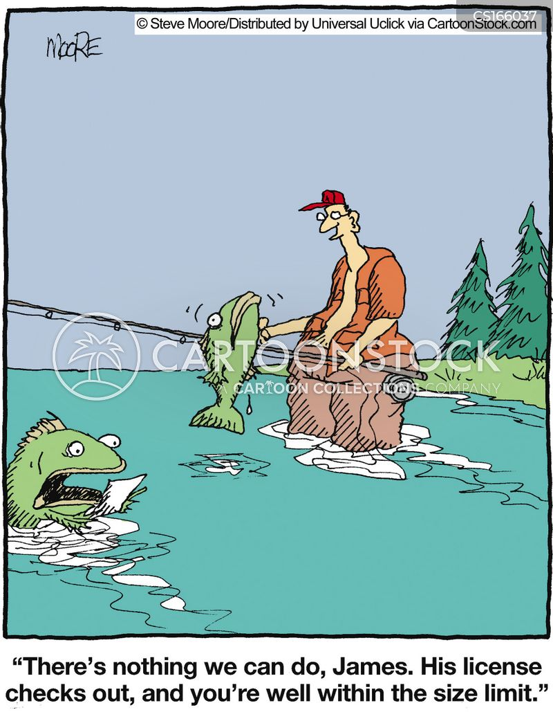 fisher cartoon