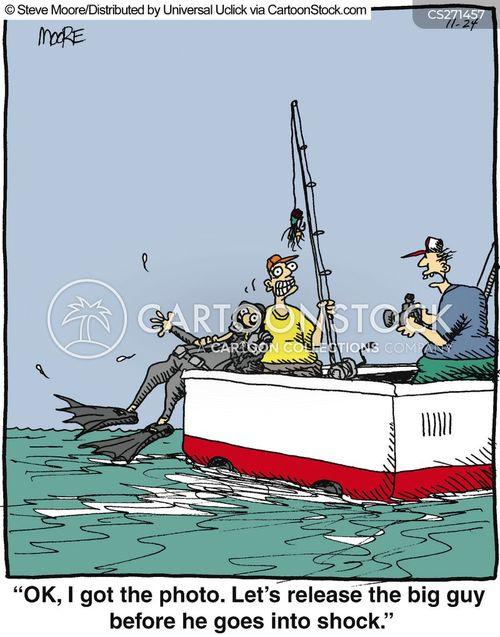 fisher man cartoon