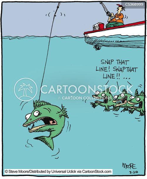 fisher men cartoon
