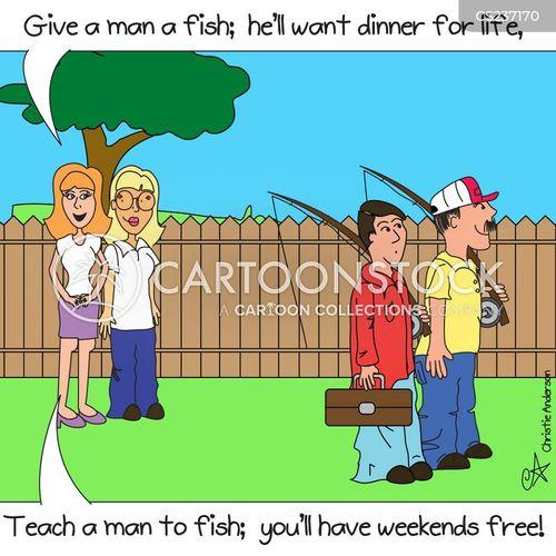 marital advice cartoon