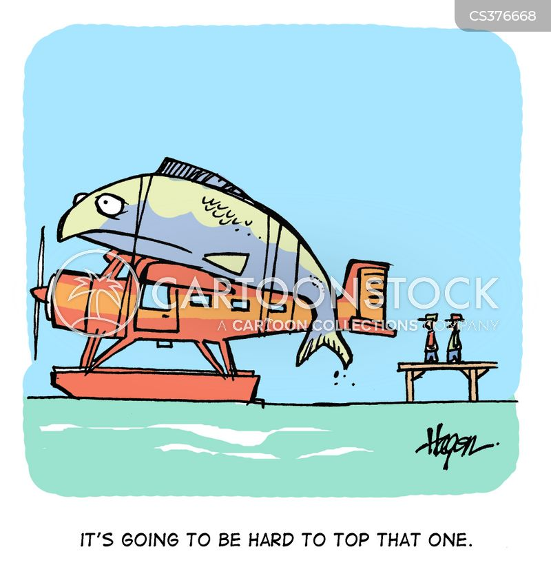 float plane cartoon