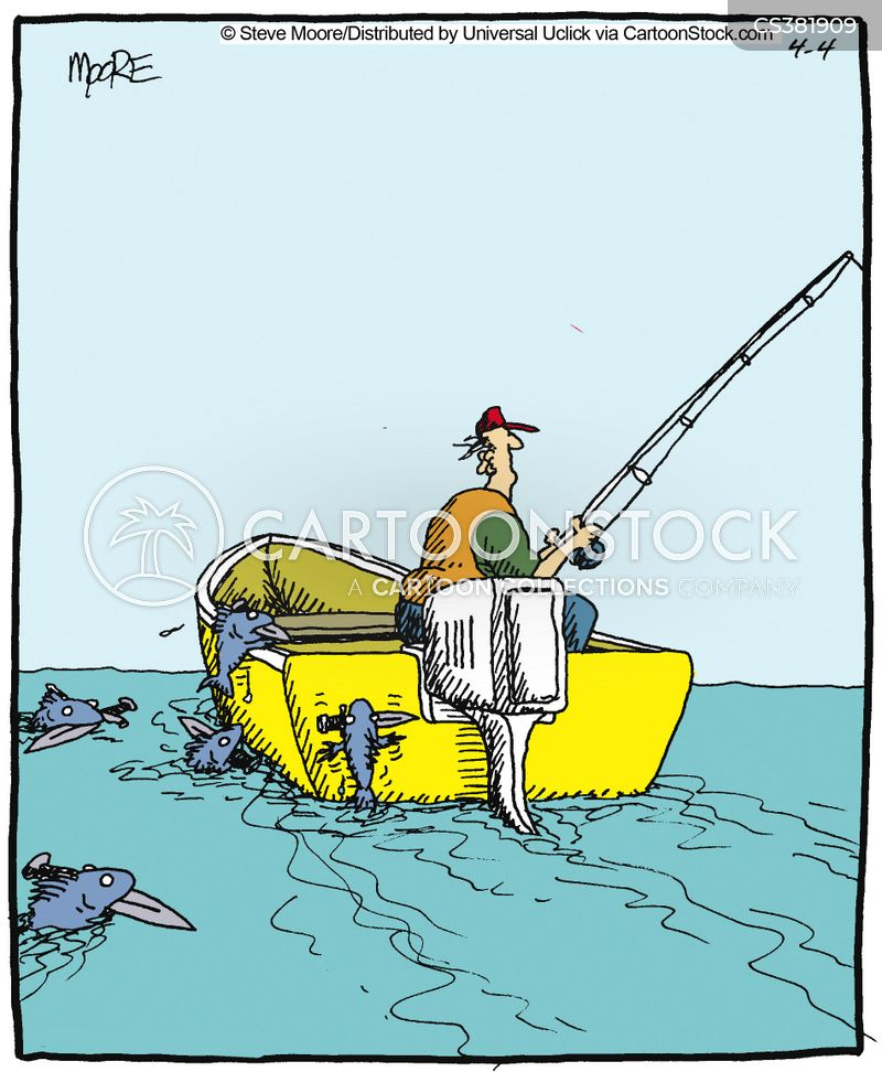 Funny cartoon fishing - photo#50