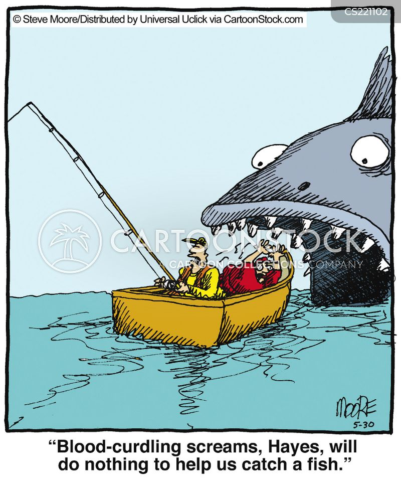Giant Fish Cartoons And Comics Funny Pictures From Cartoonstock