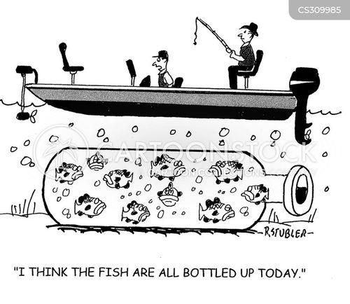 bottled up cartoon