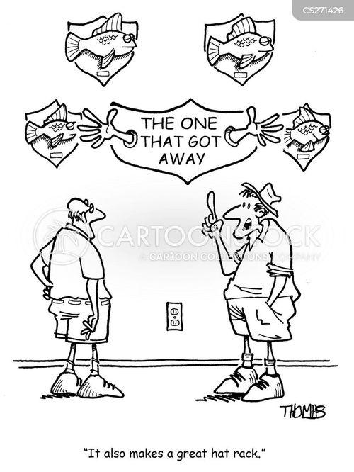 fishmen cartoon