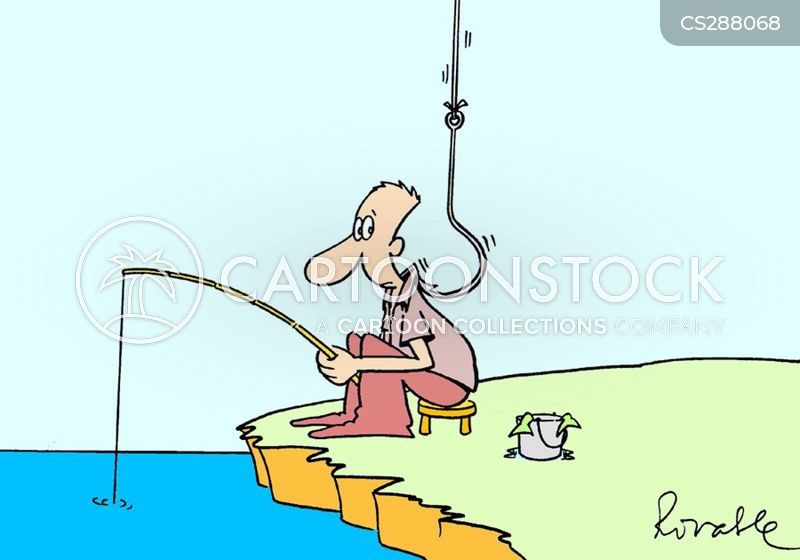 fishhook cartoon