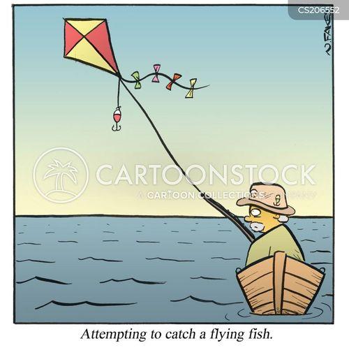 kites cartoon