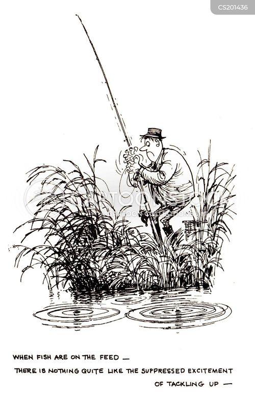 fishing spot cartoon