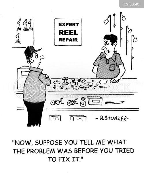 fix it cartoon