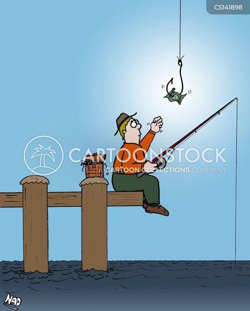 live baits cartoon