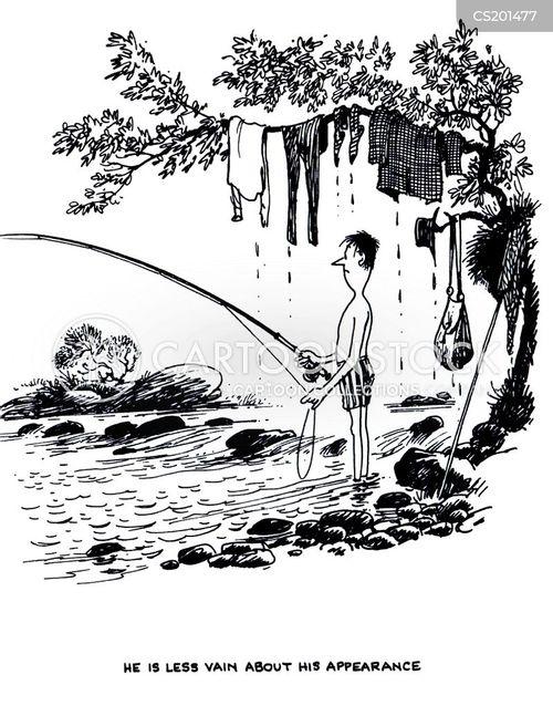 river fishing cartoon