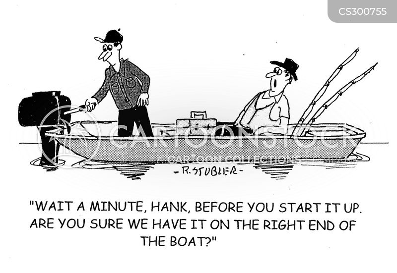motorboat cartoon