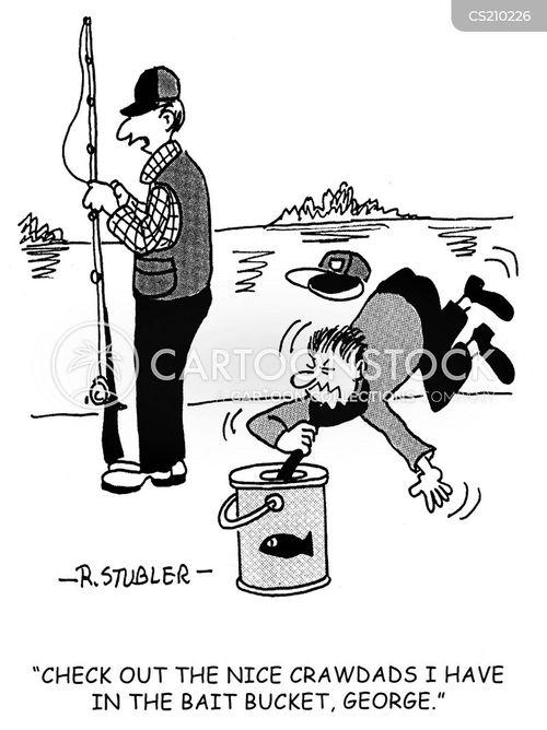 crawdad cartoon