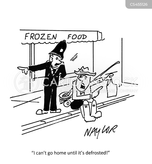 frozen fish cartoon