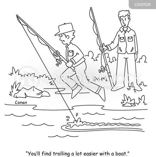 shoreline cartoon