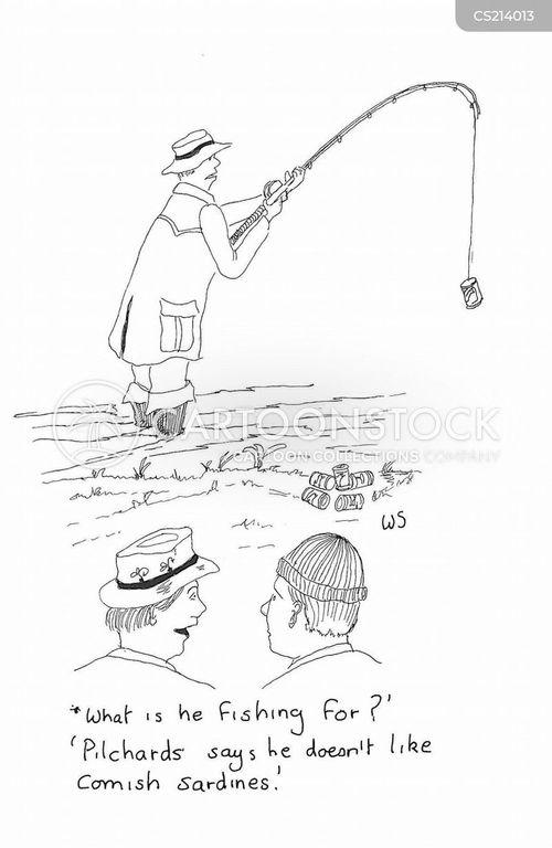 sardine cartoon