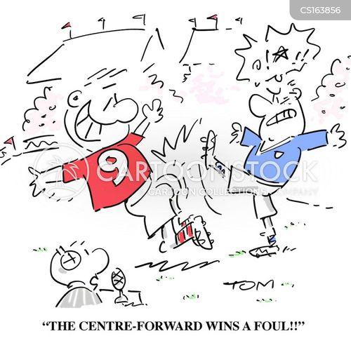 football commentators cartoon