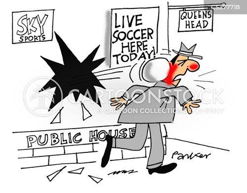 live sports cartoon