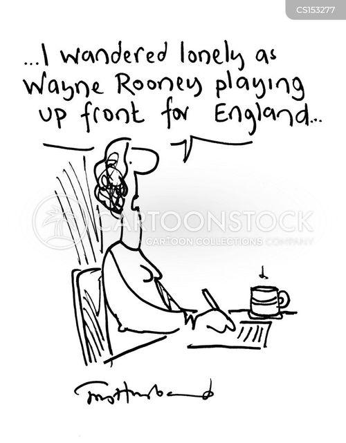 english football teams cartoon