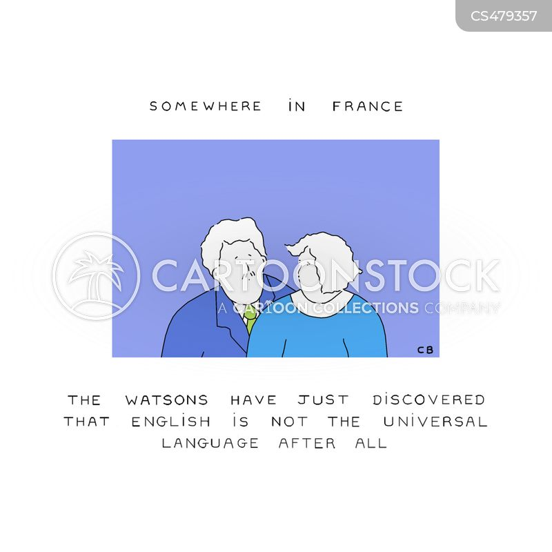 the french cartoon