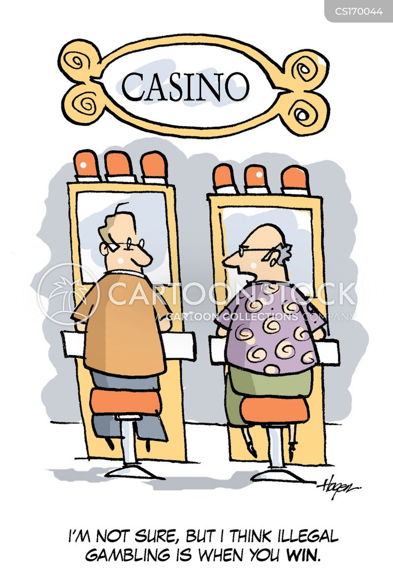 betting cartoon