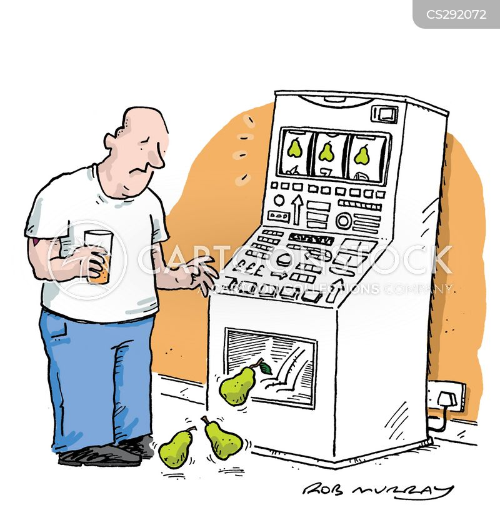 fruit machine cartoon