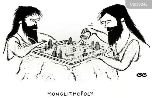 game playing cartoon