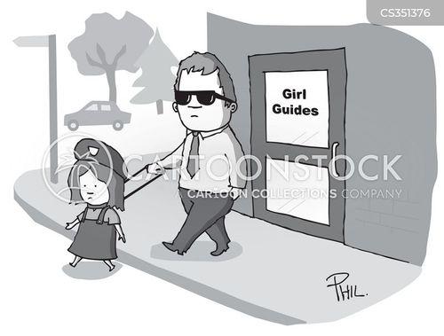 girl guide cartoon