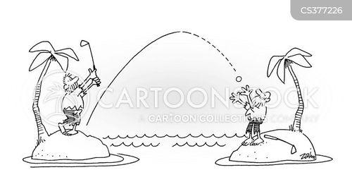 pitch and putt cartoon