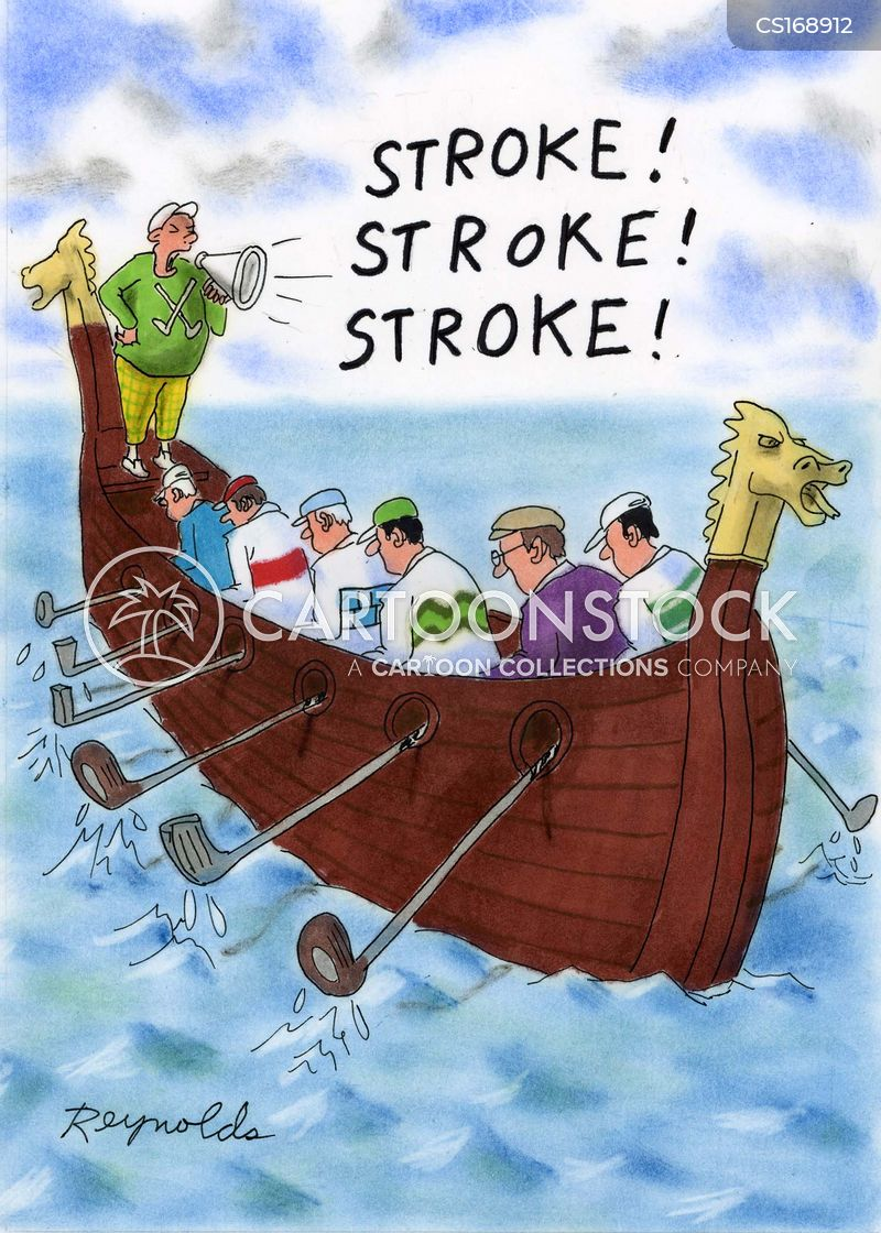 stroke cartoon