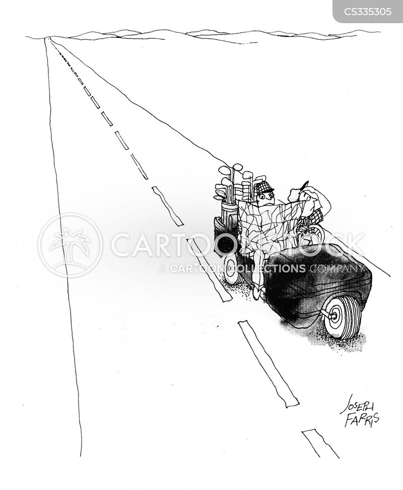 Image Result For Driving Golf Cart On Road