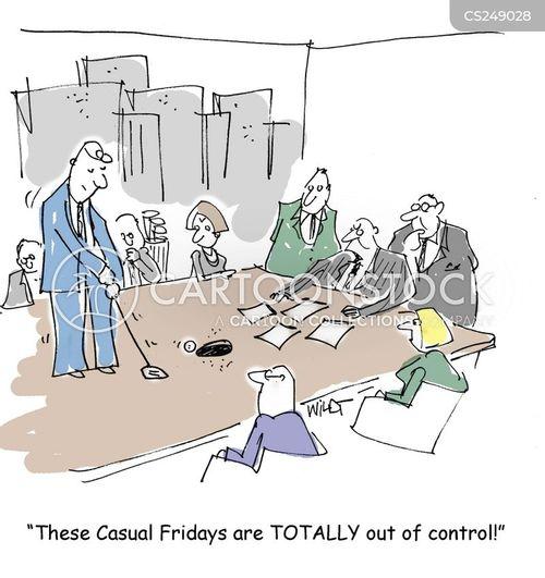 meeting rooms cartoon