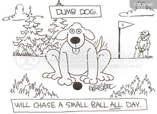 dumb animal cartoon