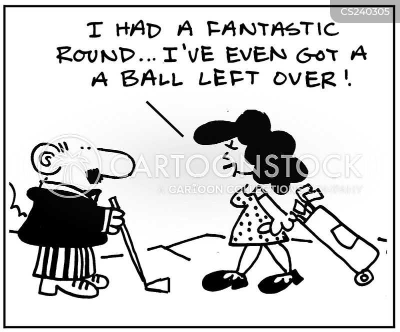 Women Golfers Cartoons And Comics Funny Pictures From Cartoonstock