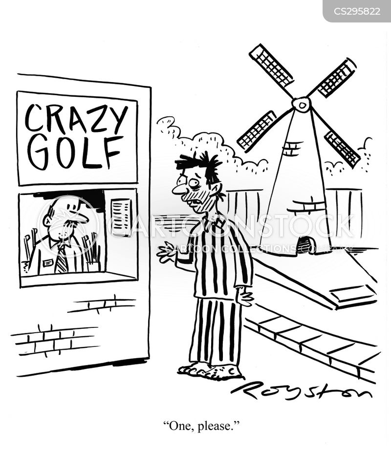 Pitch And Putt Cartoons And Comics Funny Pictures From Cartoonstock