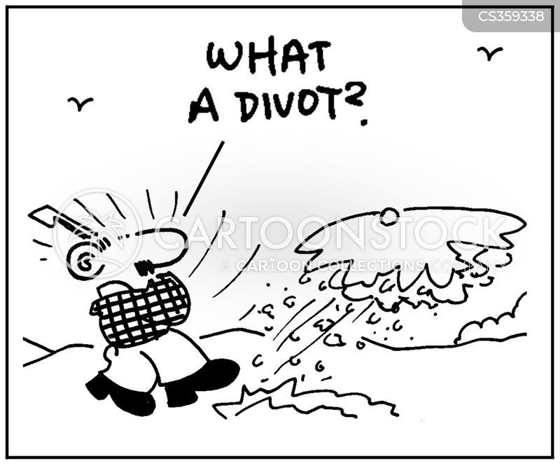 divots cartoon