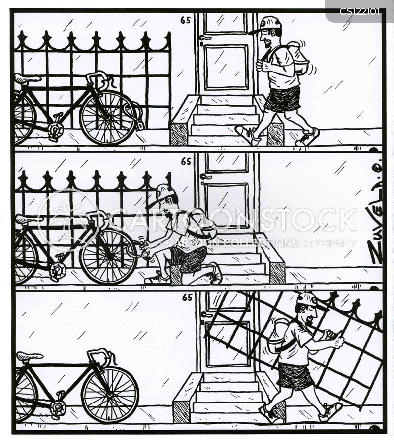 Bicycle Lock cartoons, Bicycle Lock cartoon, funny, Bicycle Lock picture, Bicycle Lock pictures, Bicycle Lock image, Bicycle Lock images, Bicycle Lock illustration, Bicycle Lock illustrations