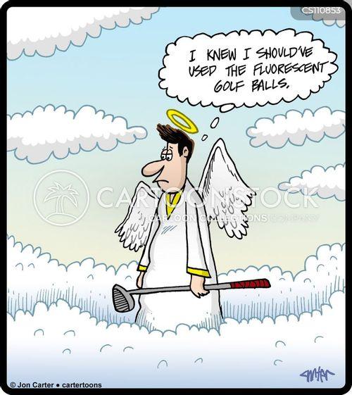 golfball cartoon