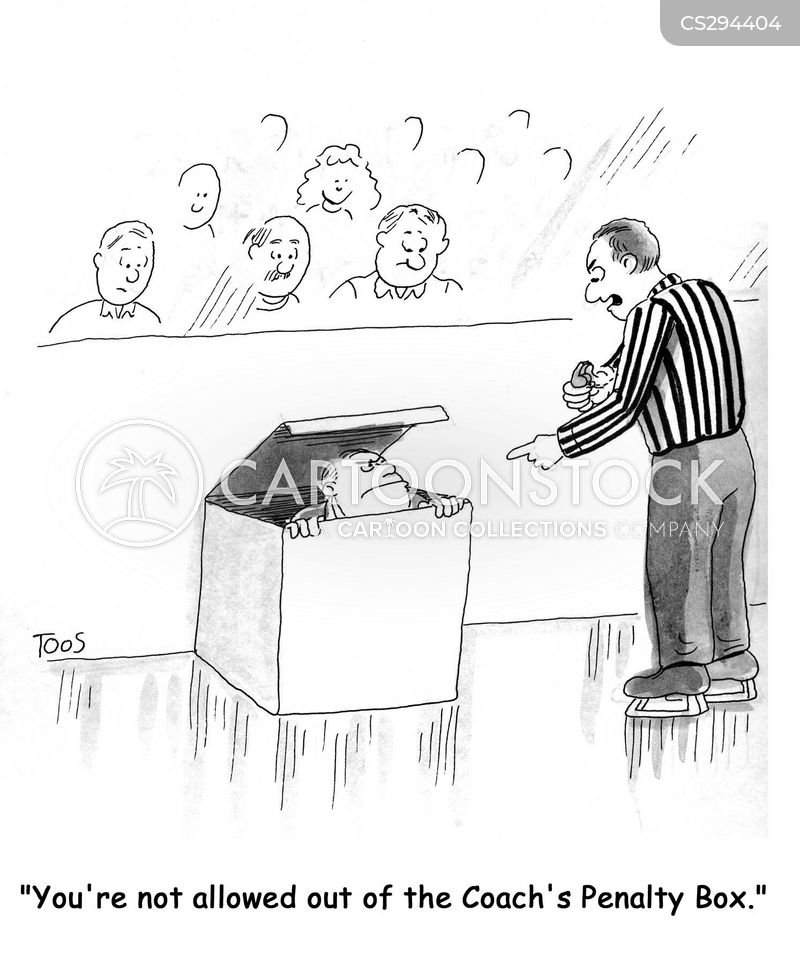 hockey fans cartoon