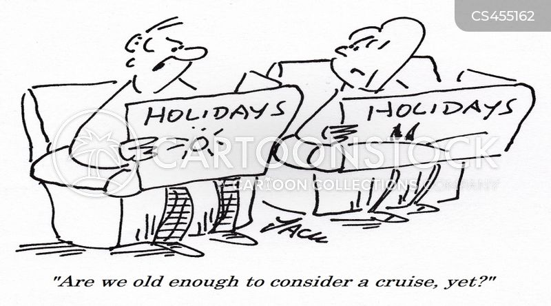cruising cartoon