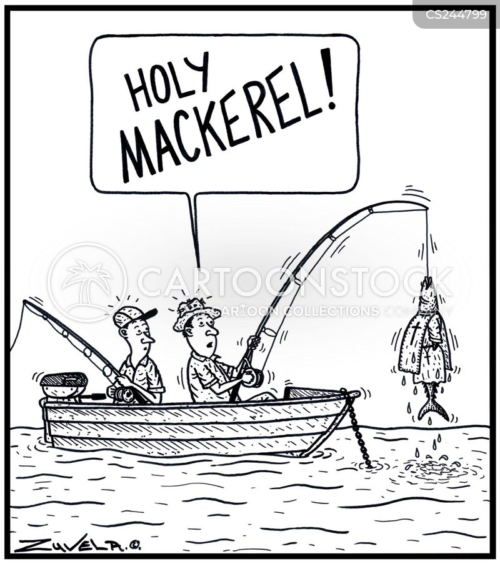 hook line and sinker cartoon