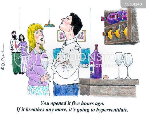 hyperventilate cartoon