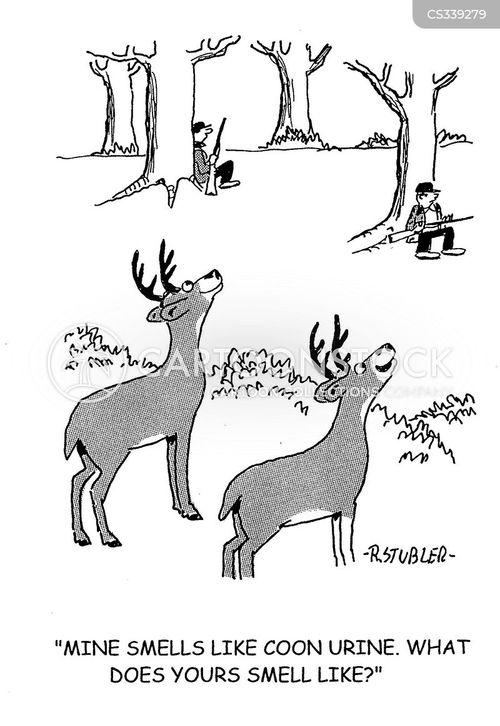 deer season cartoon