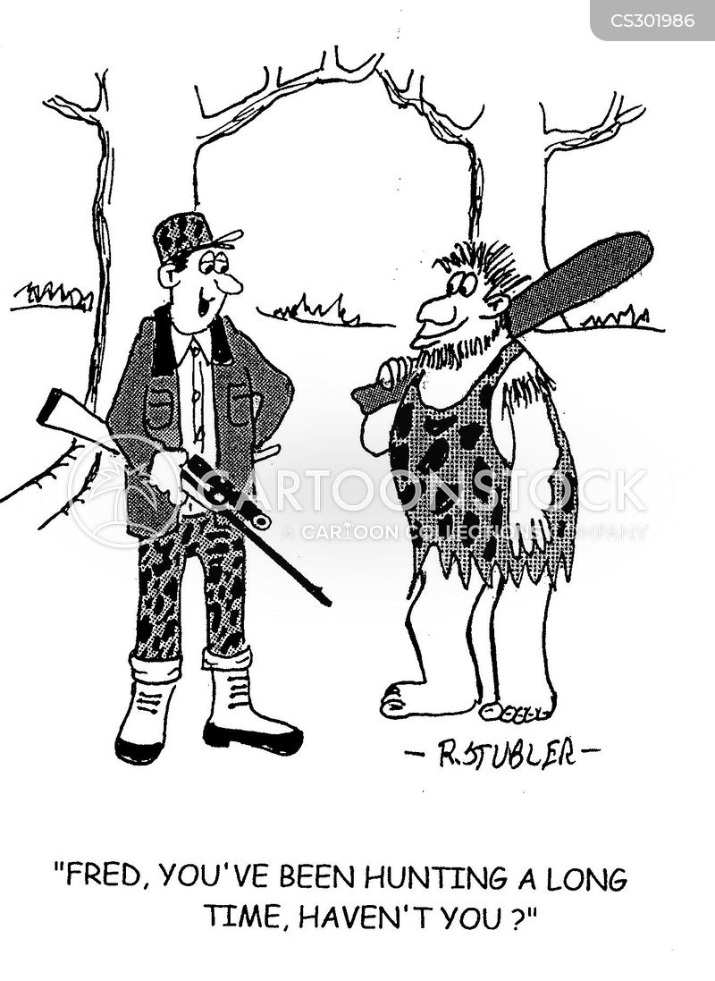 hunting seasons cartoon