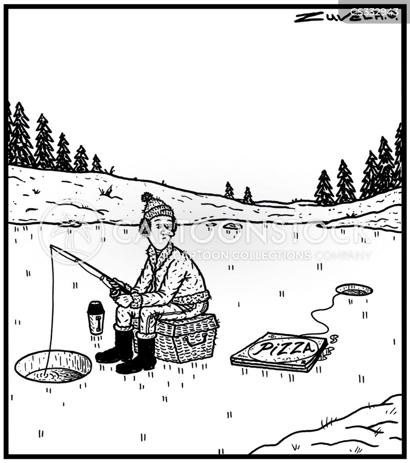 Ice Hole Fisherman Cartoons and Comics - funny pictures ... Funny Ice Fishing Jokes