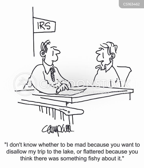 deductions cartoon