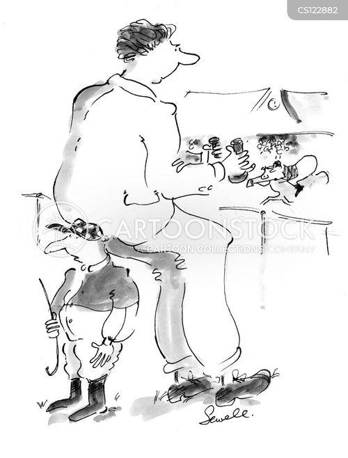 horseracing cartoon
