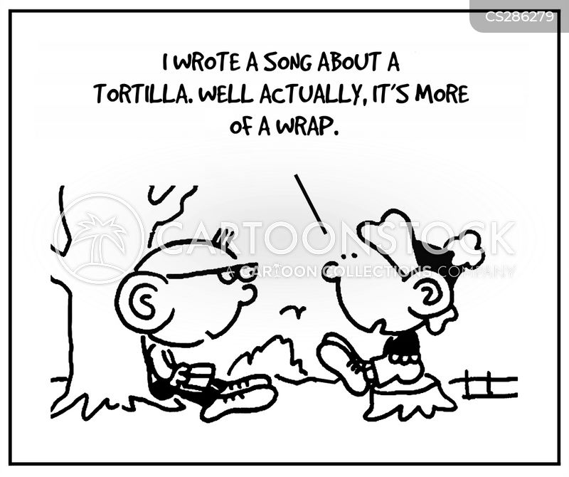 tortilla cartoon