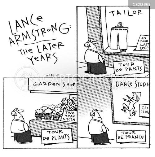 prancing cartoon